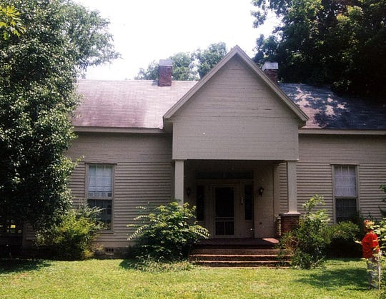 The house where Robert Singleton grew up and lived as an  adult.