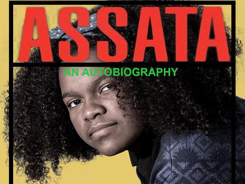 "A Milwaukee student re-creates the cover of ""Assata: An autobiography."""
