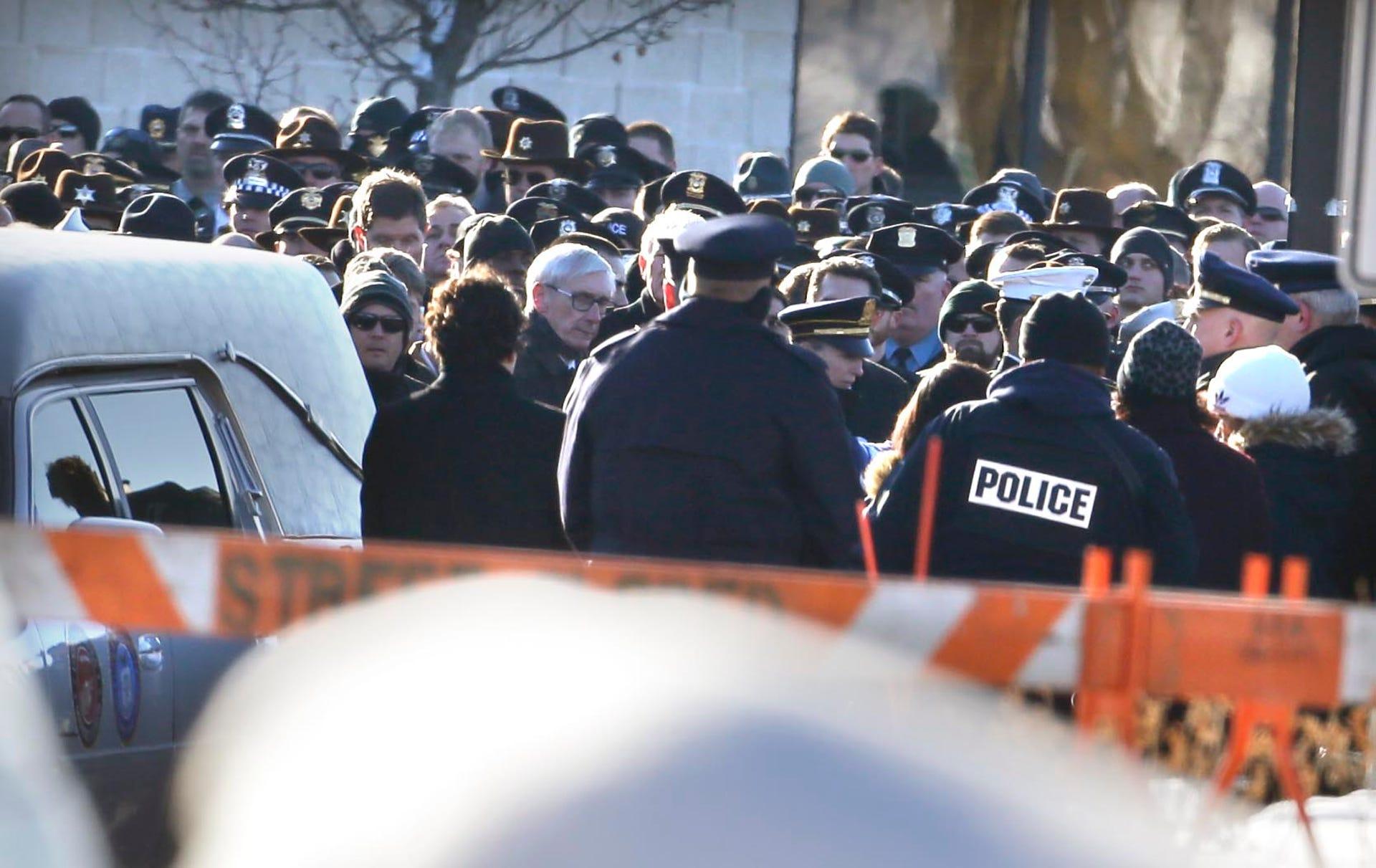 Milwaukee mourns fallen Police Officer Matthew Rittner