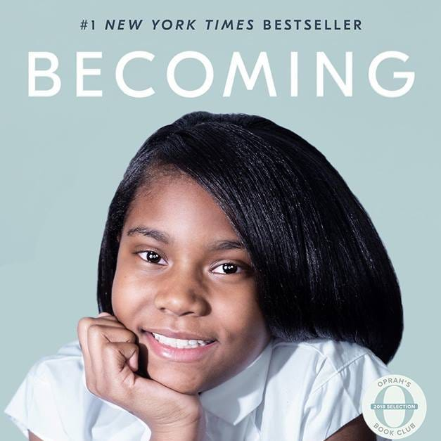 A Milwaukee sixth-grader re-created the cover of 'Becoming.' Then she met Michelle Obama.