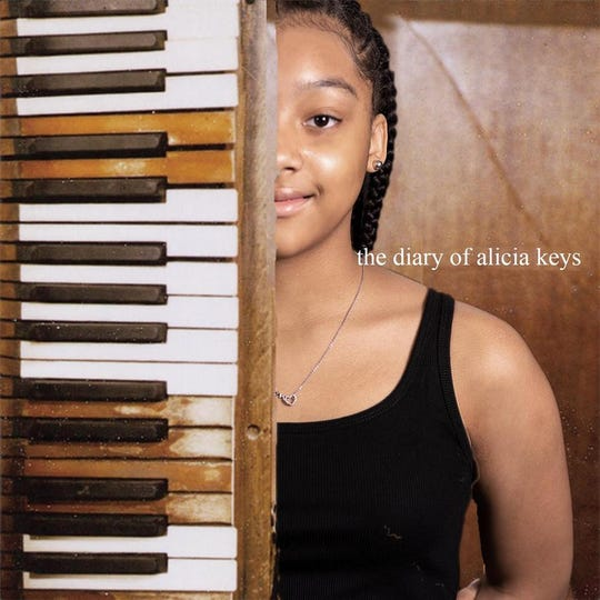 A Milwaukee student re-creates an Alicia Keys album cover.