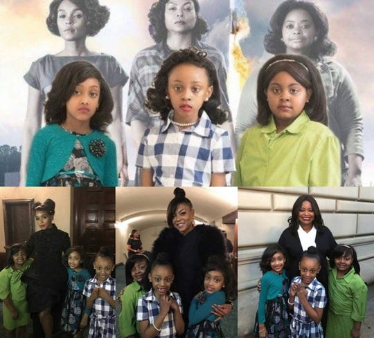 "Milwaukee students of Terrance Sims re-created the movie poster of ""Hidden Figures,"" and then got to meet the actors."