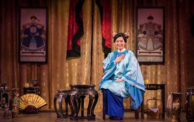 """Lisa Helmi Johanson performs in Milwaukee Repertory Theater's production of """"The Chinese Lady."""""""