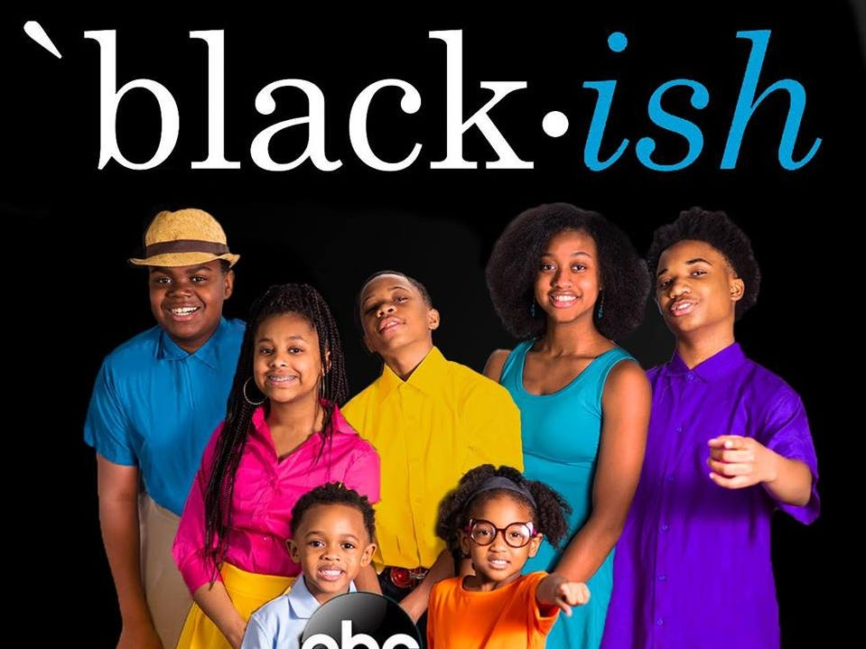 "Milwaukee students re-create a cast photo from ""Black-ish."""