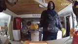 Madison County Sheriff Scott Mellinger released a surveillance video showing an intruder ransacking a home north of Chesterfield on Sunday.
