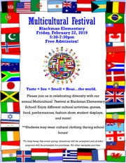 Blackman Elementary School is celebrating Multicultural Month in lieu of Black History Month.