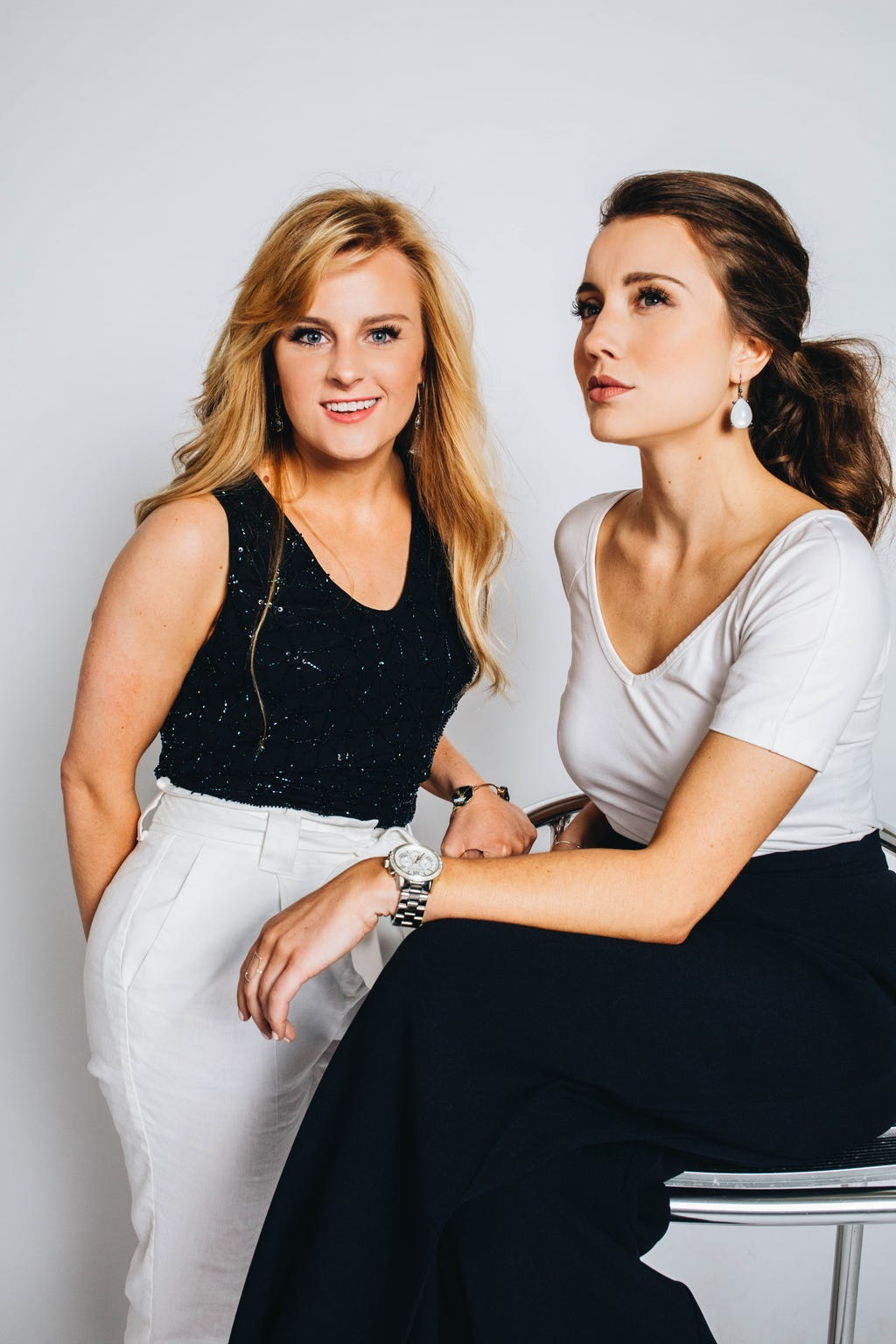 EVAmore co-founders Makenzie Stokel and Channing Moreland.