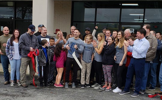 CrossFit Fairview opened their doors with a ribbon cutting on Jan. 1 to fulfill a dream for Chris and Fawn Purky Miller.
