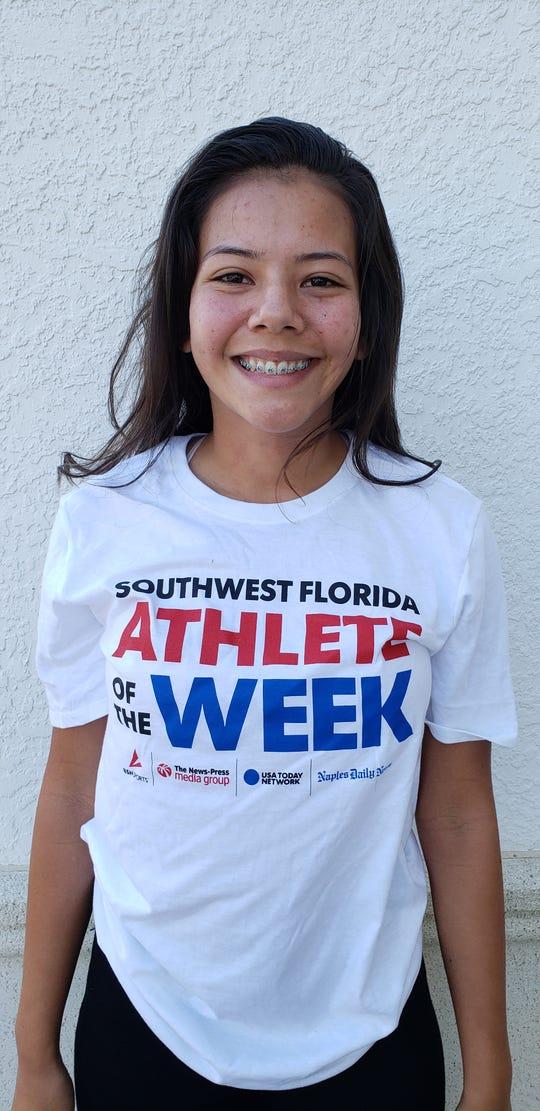 Lorena Alvarado, First Baptist Academy soccer