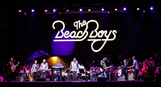 The Beach Boys are scheduled to perform on Dec. 1, 2019 at the McCallum Theatre in Palm Desert, Calif.