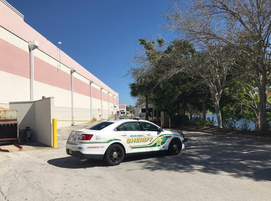 Deputies from the Collier County Sheriff's Office are investigating a death Thursday, Feb. 14, 2019 behind Carillon Place in North Naples.