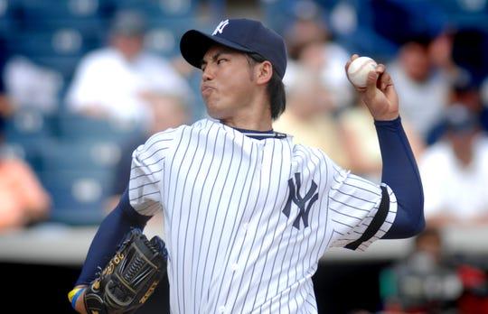 Yankees' Kei Igawa