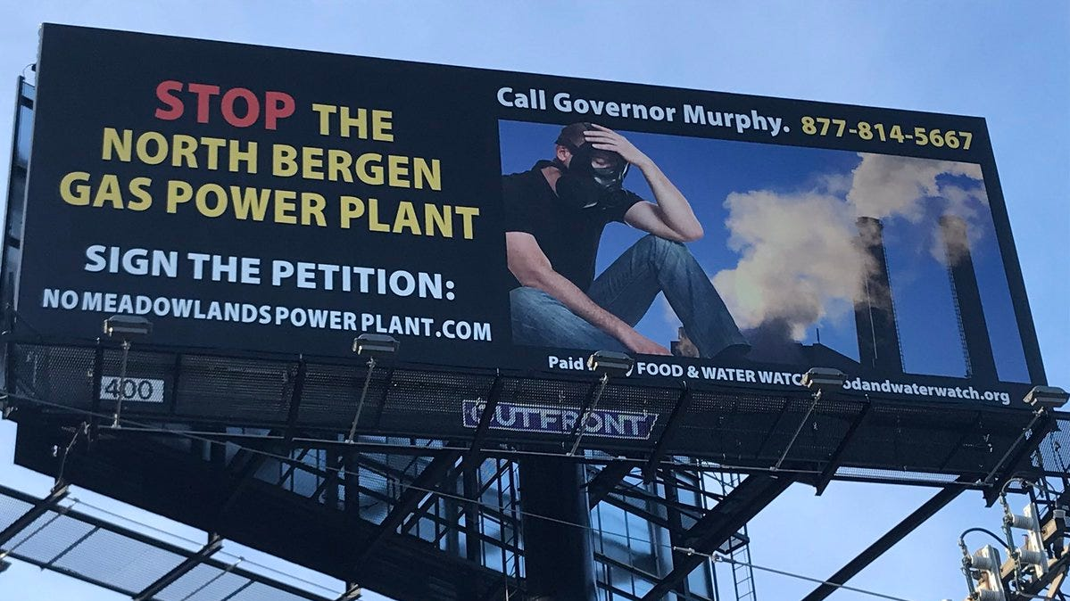 Proposed Meadowlands power plant would be NJ's biggest greenhouse gas polluter