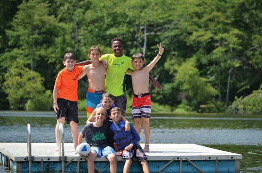 Camp is about socialization and time spent in the great outdoors, an atmosphere that fosters connection and mindfulness.