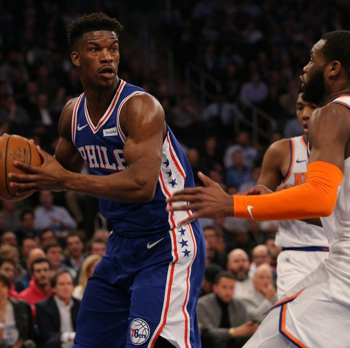 As Knicks rebuild, they can only hope for the turnaround the Sixers experienced