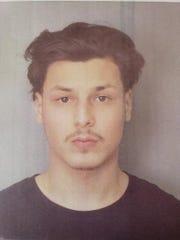 Nathan Santana, 22, of Paterson