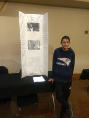Julian Vigil, a sixth-grade student at Mesilla Valley Leadership Academy, participated in the National History Day competition at the Farm and Ranch Museum on Friday, Feb 8. Vigil's presentation was on Rodney King, a key figure at the center of the 1992 Los Angeles Riots.