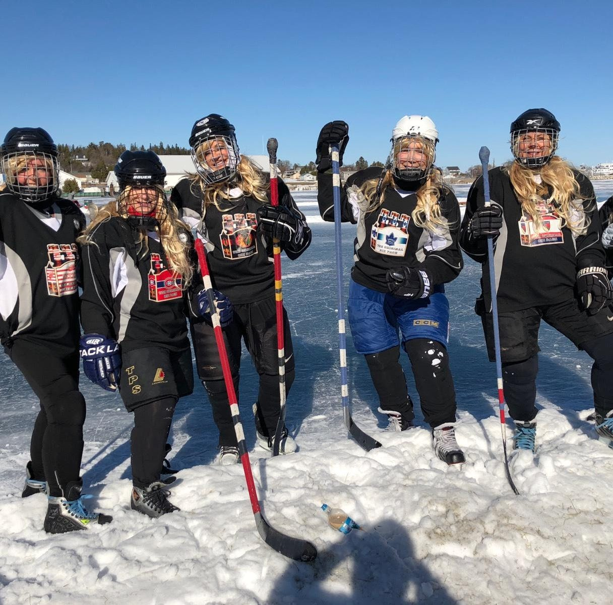 Metro Detroit teams ready to battle, have fun at U.P. Pond Hockey Championship