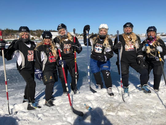 Original Six Pack will compete this weekend in the UP Pond Hockey tournament.