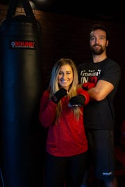 Cassie and Justin Murphy opened 9Round together in July.