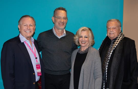 Jamie Kabler, Tom Hanks, Helene Galen, and Harold Matzner
