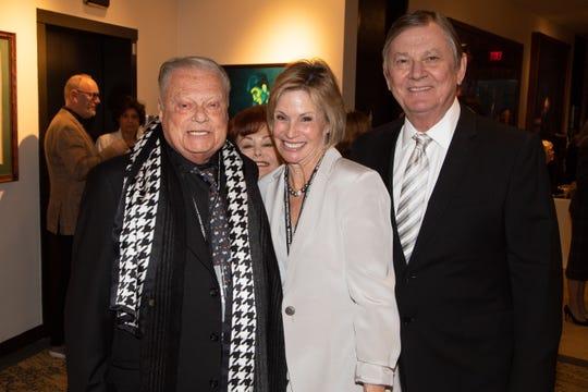 Harold Matzner , Lori and Aubrey Serfling