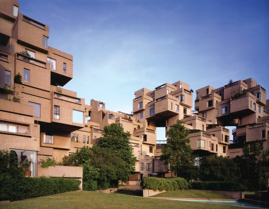 Located in Montreal, Habitat '67 is one of Safdie's most iconic projects. The project included nearly 160 residences.
