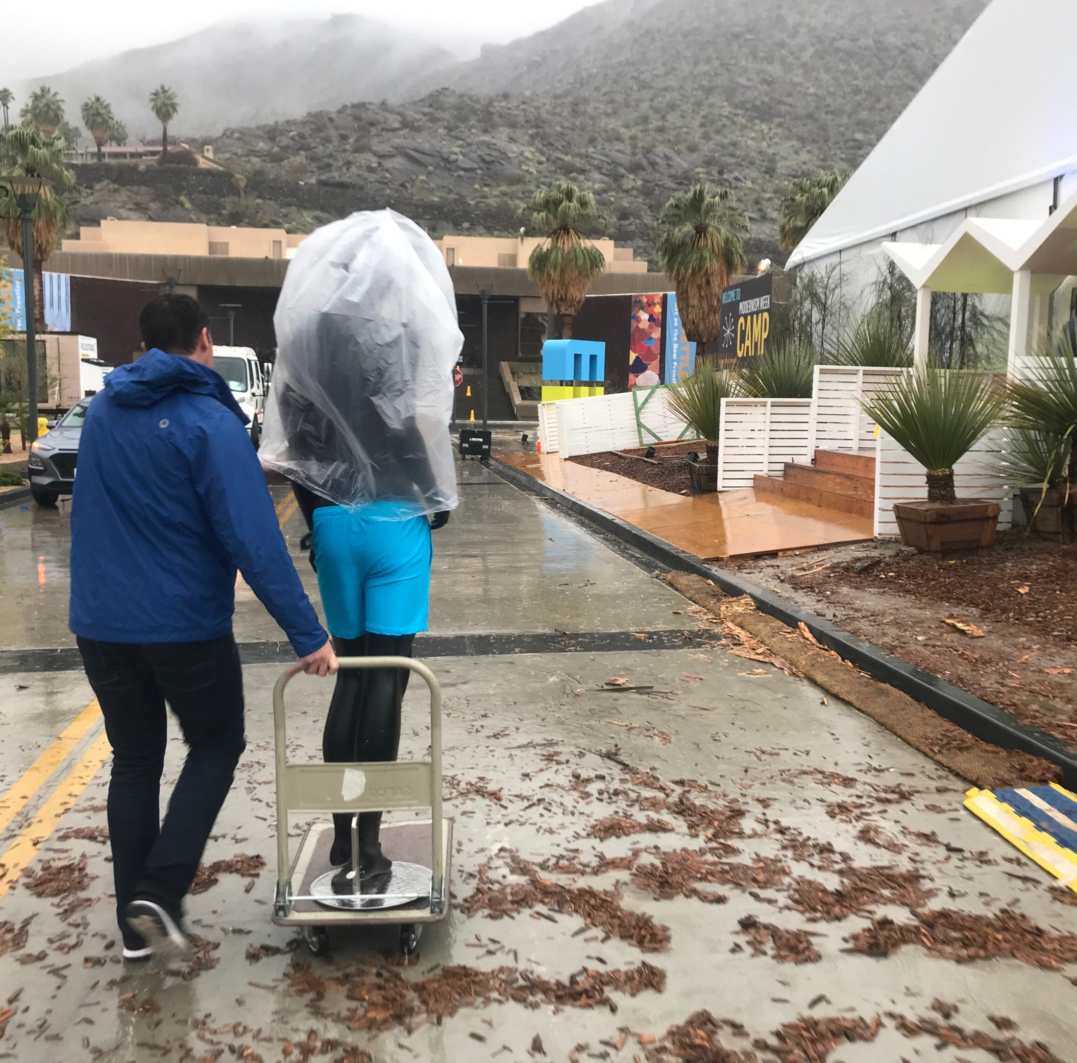Rain or shine, Modernism Week 2019 kicks off Thursday. CAMP will open Friday as planned