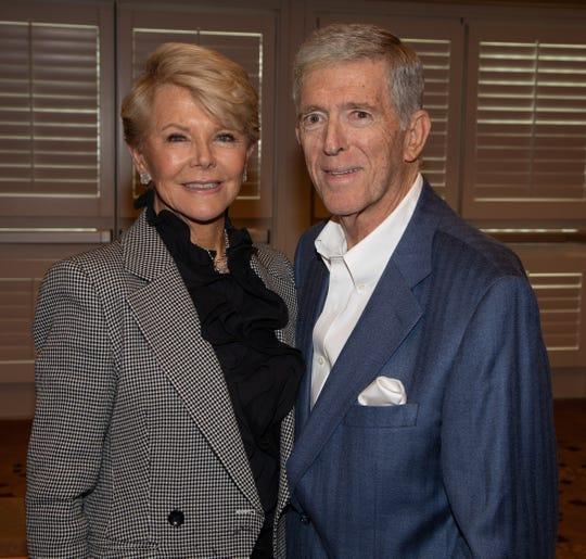 (left to right) Event Presenting Sponsors Nancy Stone & Vern Kozlen.