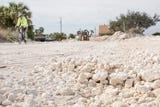 County widens road in Pensacola Beach to accommodate parking