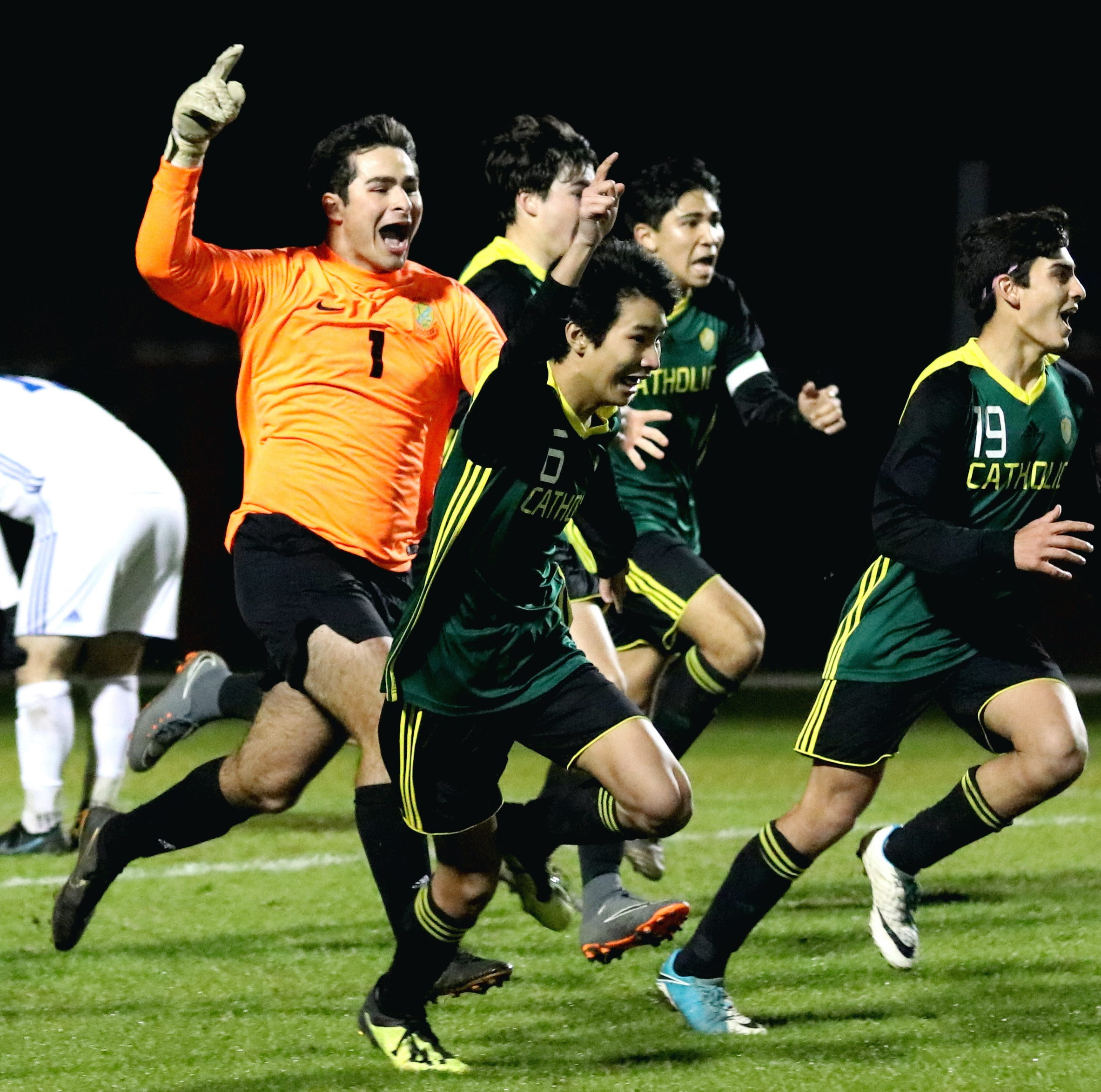 Catholic soccer flips script on Bolles, advances to state semifinal