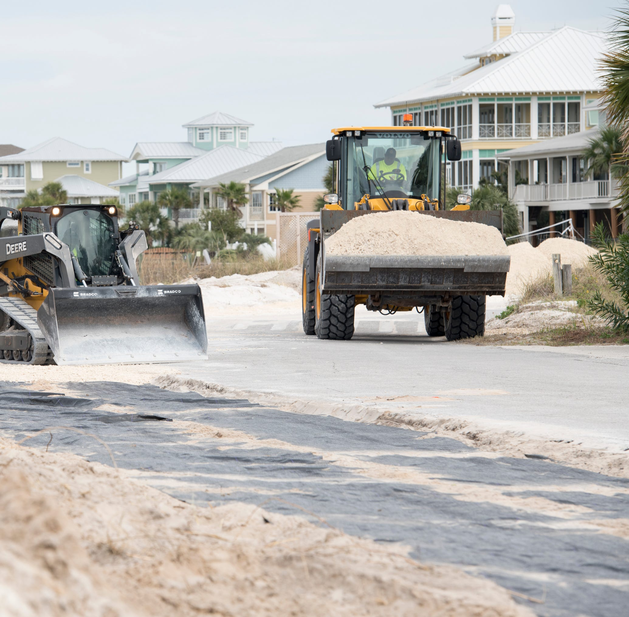 Pensacola Beach residents upset over public parking expansion, right-of-way clearing