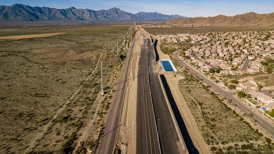 Access for drivers on the Loop 202 extension project began in February 2019 in the East Valley.