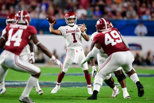 How would Kyler Murray look on the Arizona Cardinals? A recent NFL mock draft have him going to the team in the 2019 NFL draft.