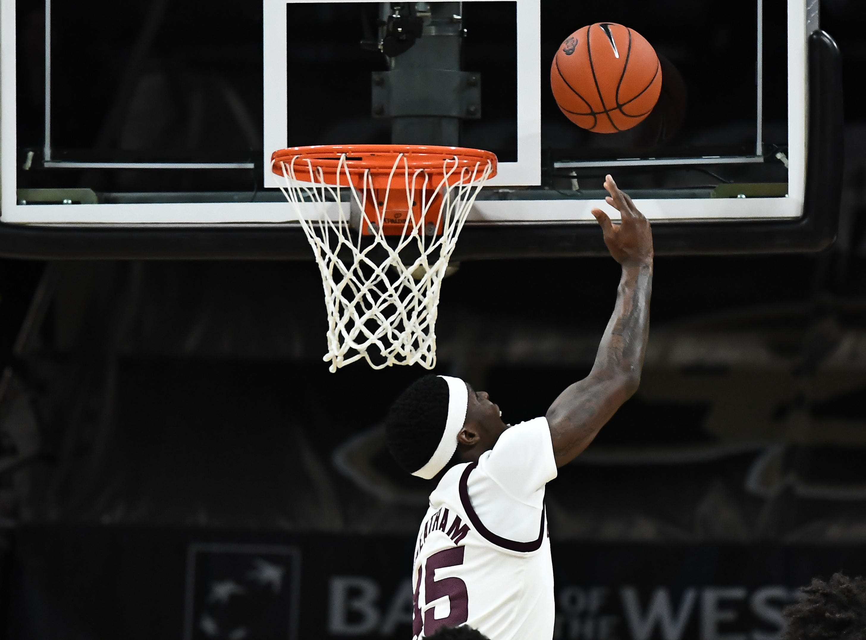 Feb 13, 2019; Boulder, CO, USA; Arizona State Sun Devils forward Zylan Cheatham (45) shoots in the first half against the Colorado Buffaloes at the CU Events Center. Mandatory Credit: Ron Chenoy-USA TODAY Sports