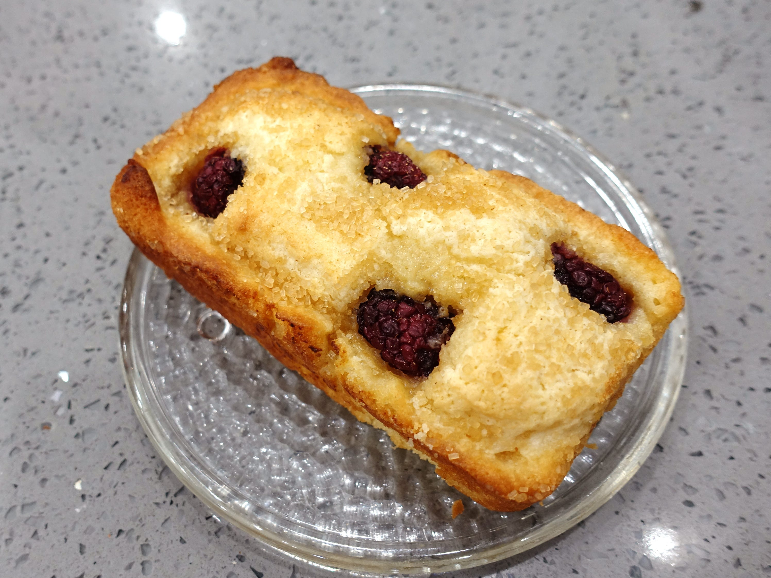 Blackberry butter loaf at Sweetest Season Artisan Eatery in Tempe.