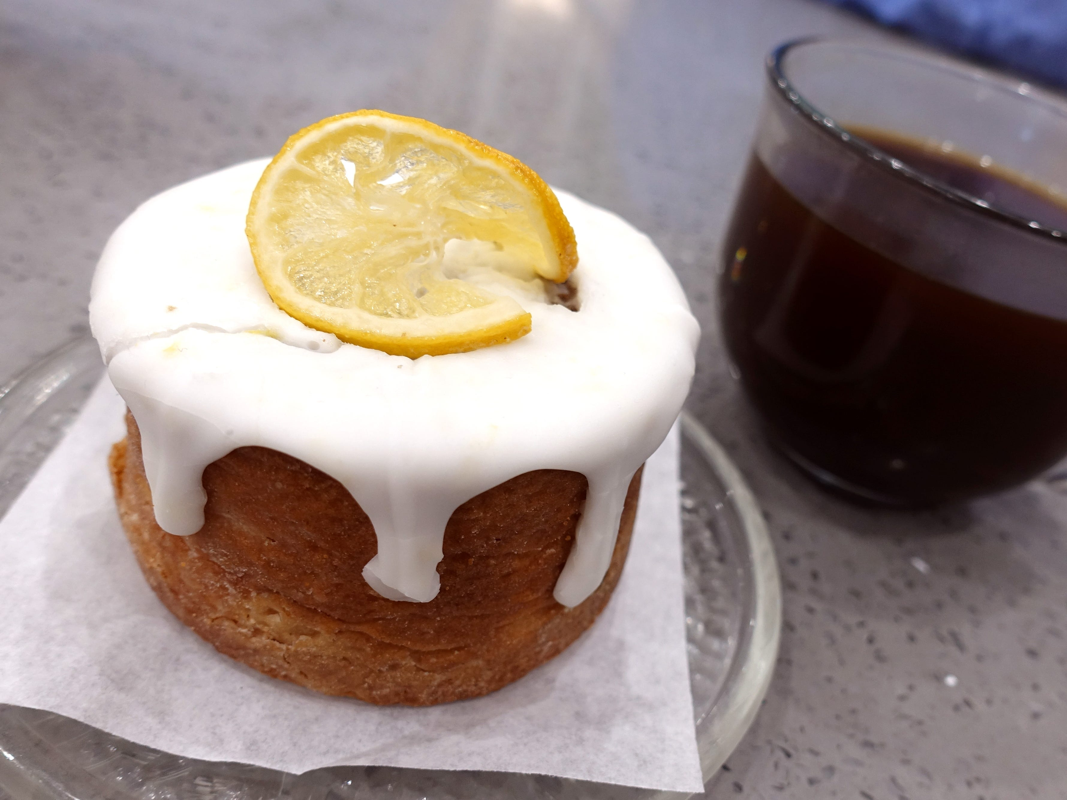 Lemon-soaked pound cake at Sweetest Season Artisan Eatery in Tempe.