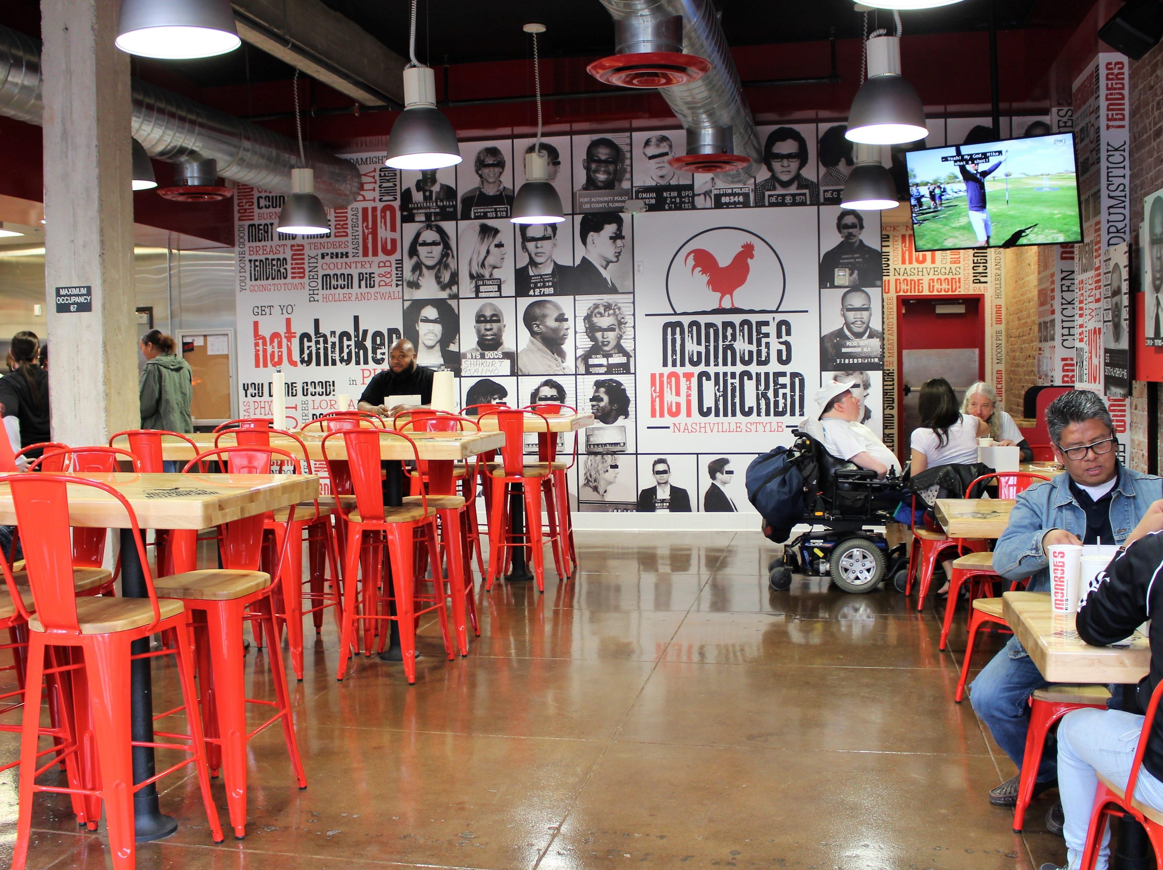 Monroe's Hot Chicken is the first restaurant to specialize in Nashville-style hot chicken in metro Phoenix.