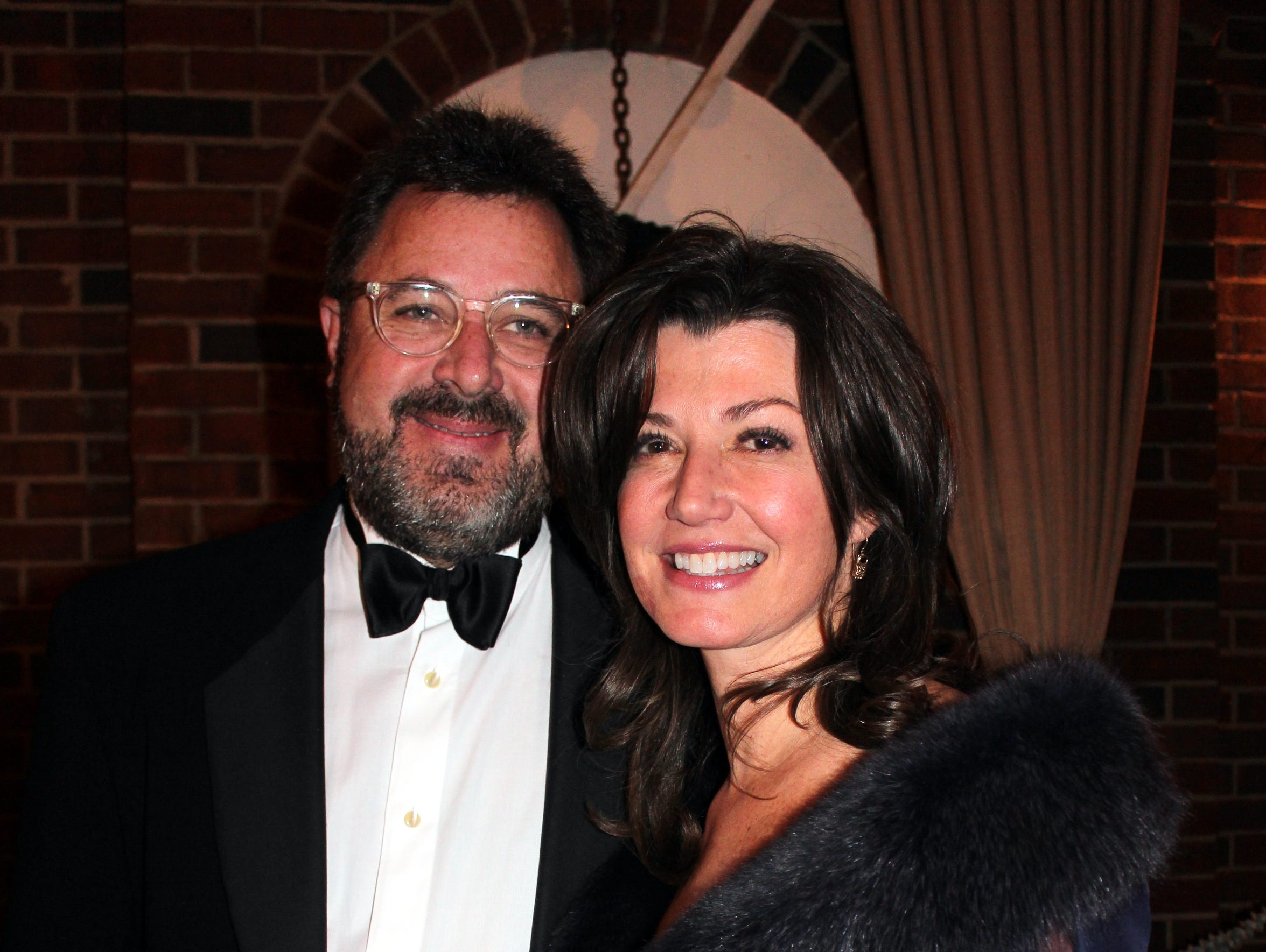 Vince Gill and Amy Grant in 2014.