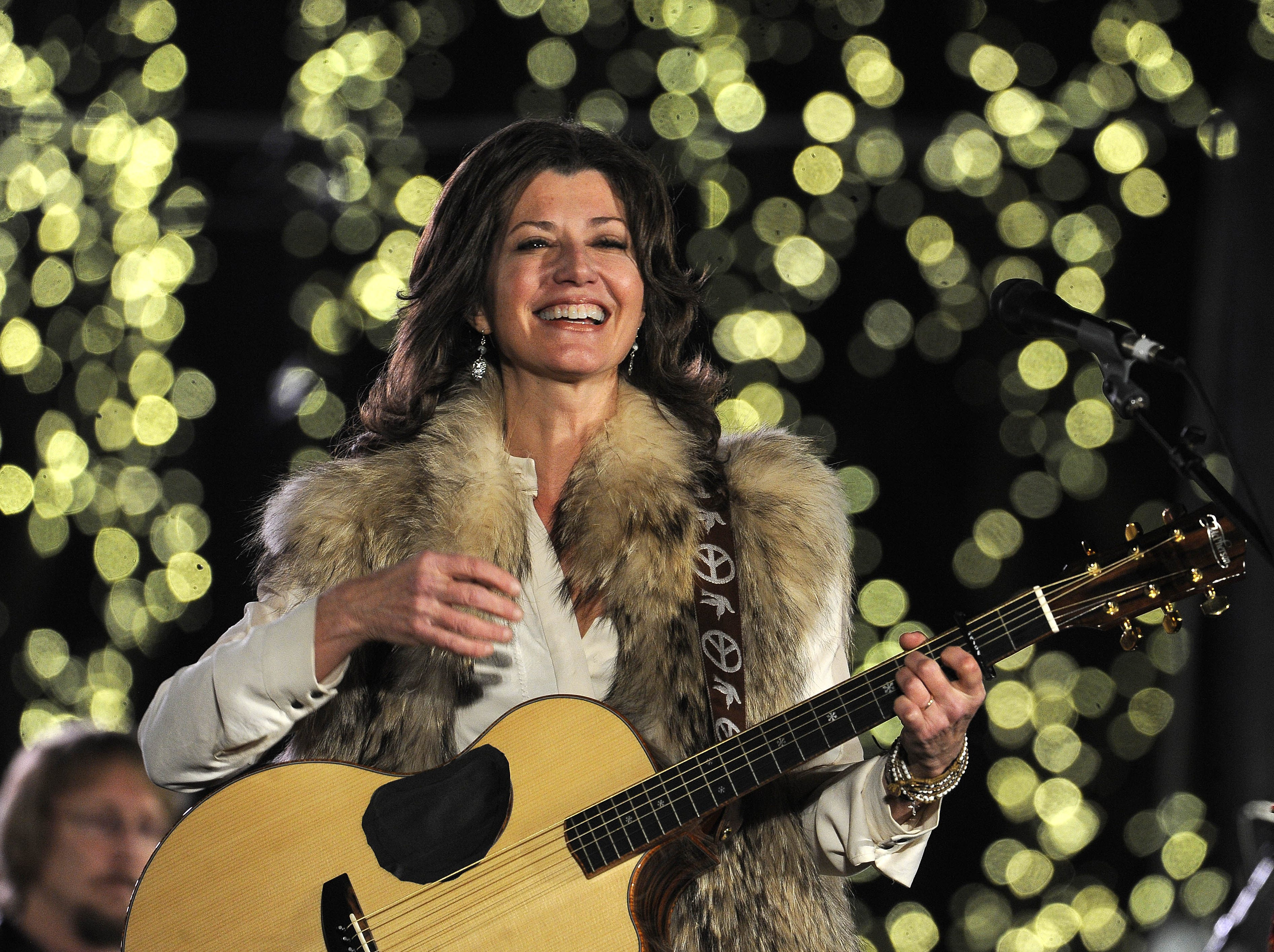Amy Grant performs Dec. 3, 2013, in Nashville.