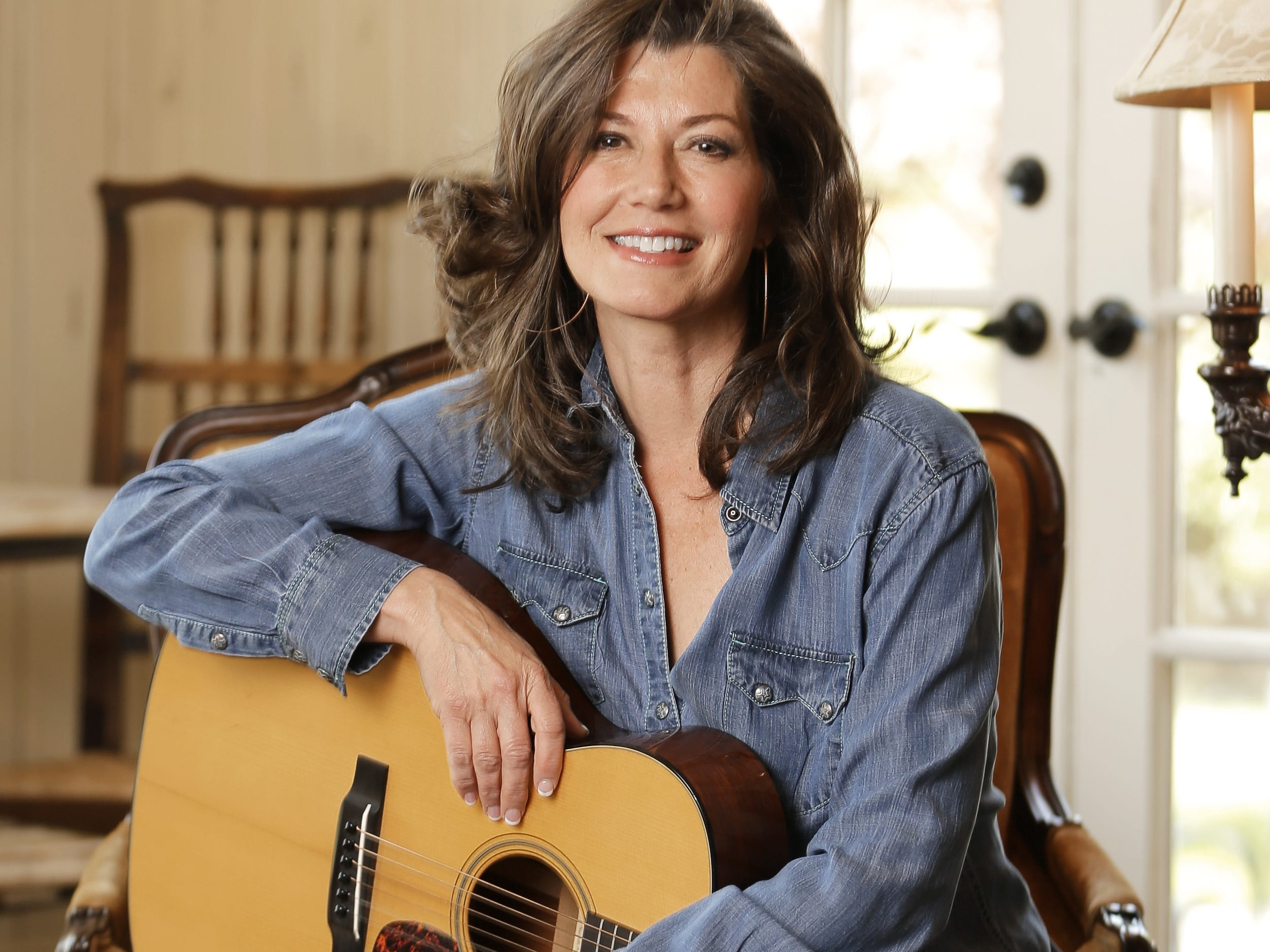 Amy Grant is seen on April 25, 2016, in her home in Nashville, Tennessee.