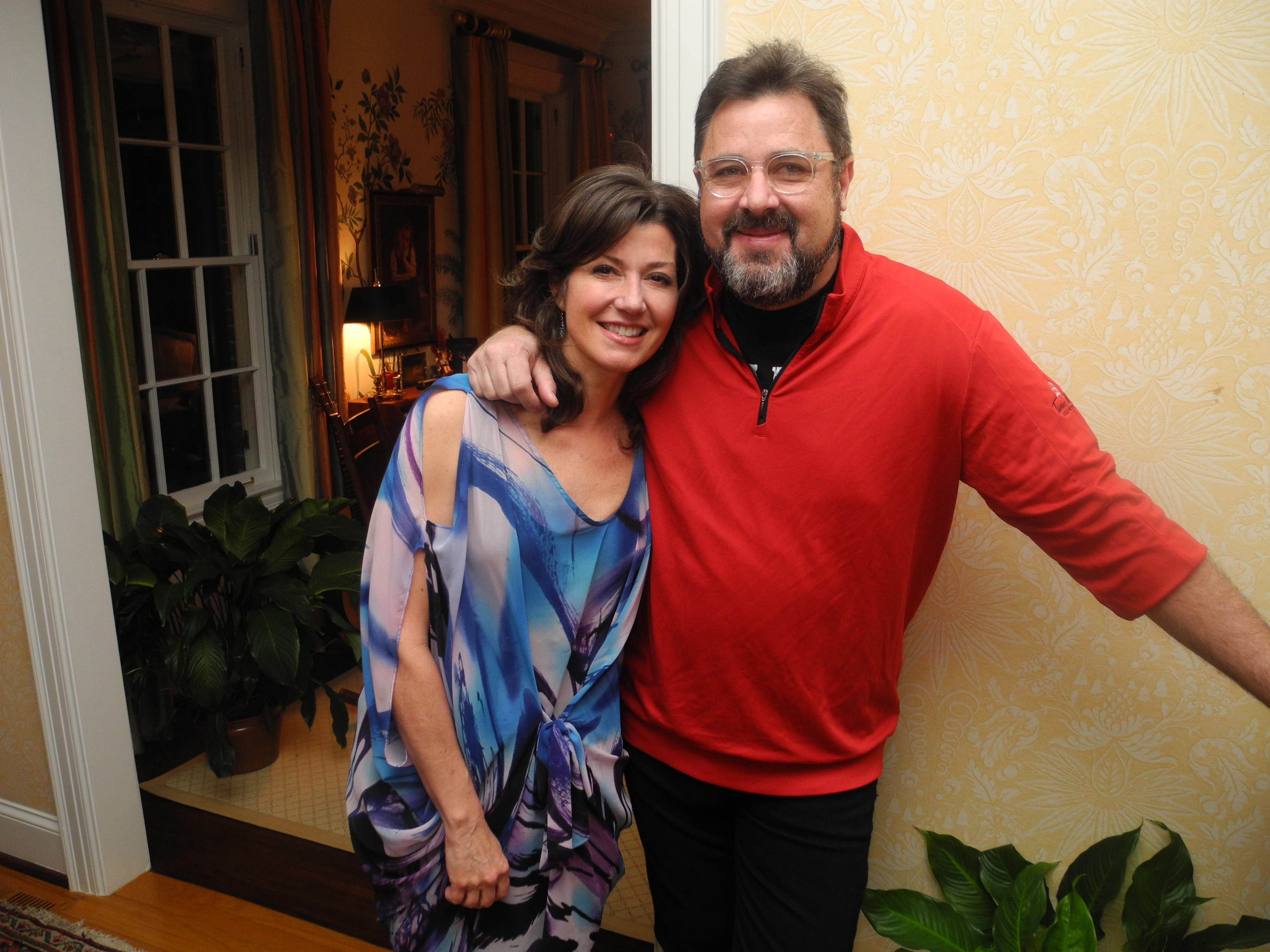 Amy Grant and Vince Gill in 2014.