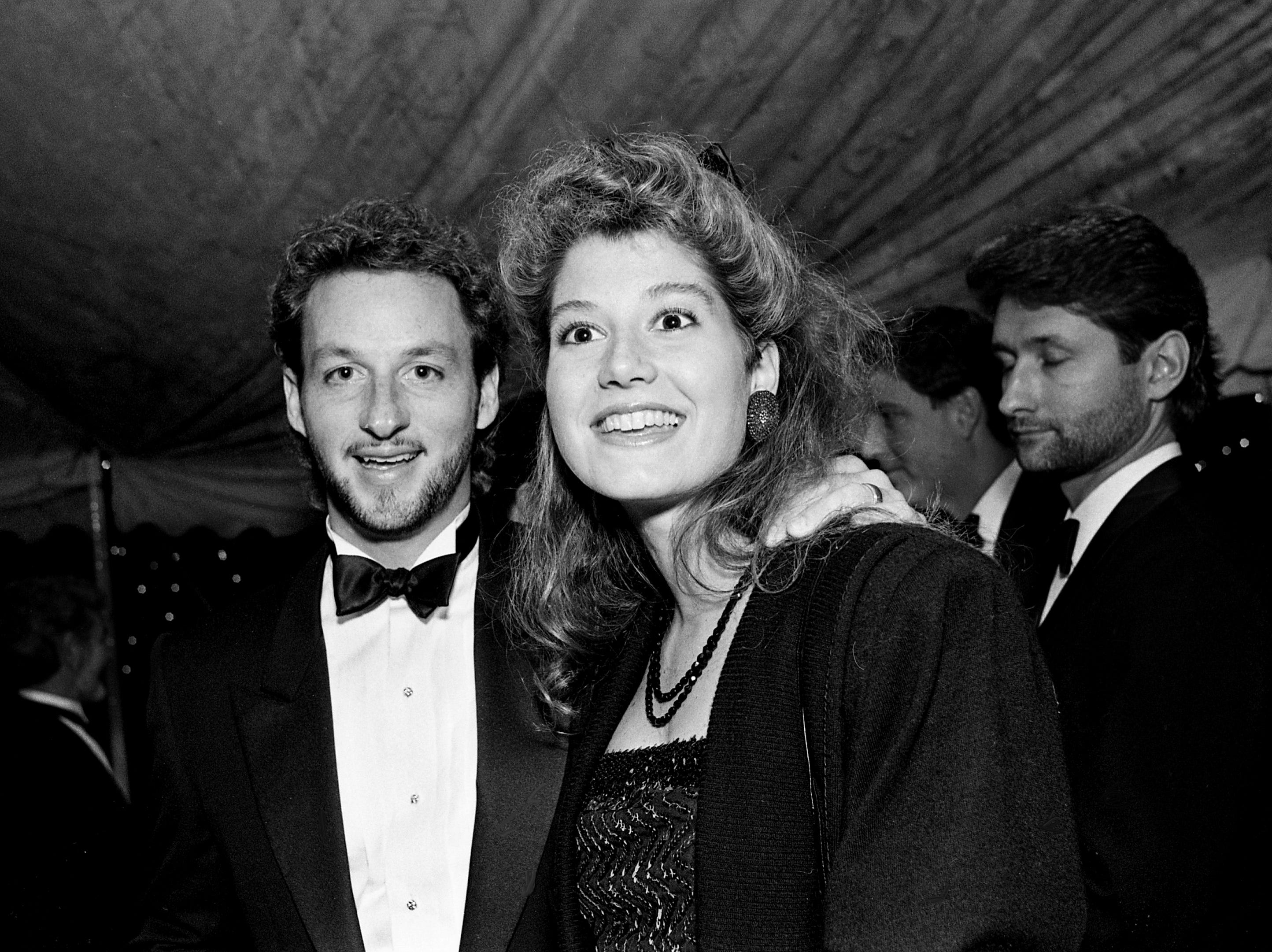 Gary Chapman and then-wife Amy Grant arrive for the 35th annual BMI Awards Dinner on Oct. 13, 1987, in Nashville.