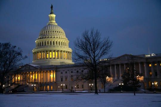 The U.S. Capitol building in Washington, D.C., on Feb. 1, 2019.