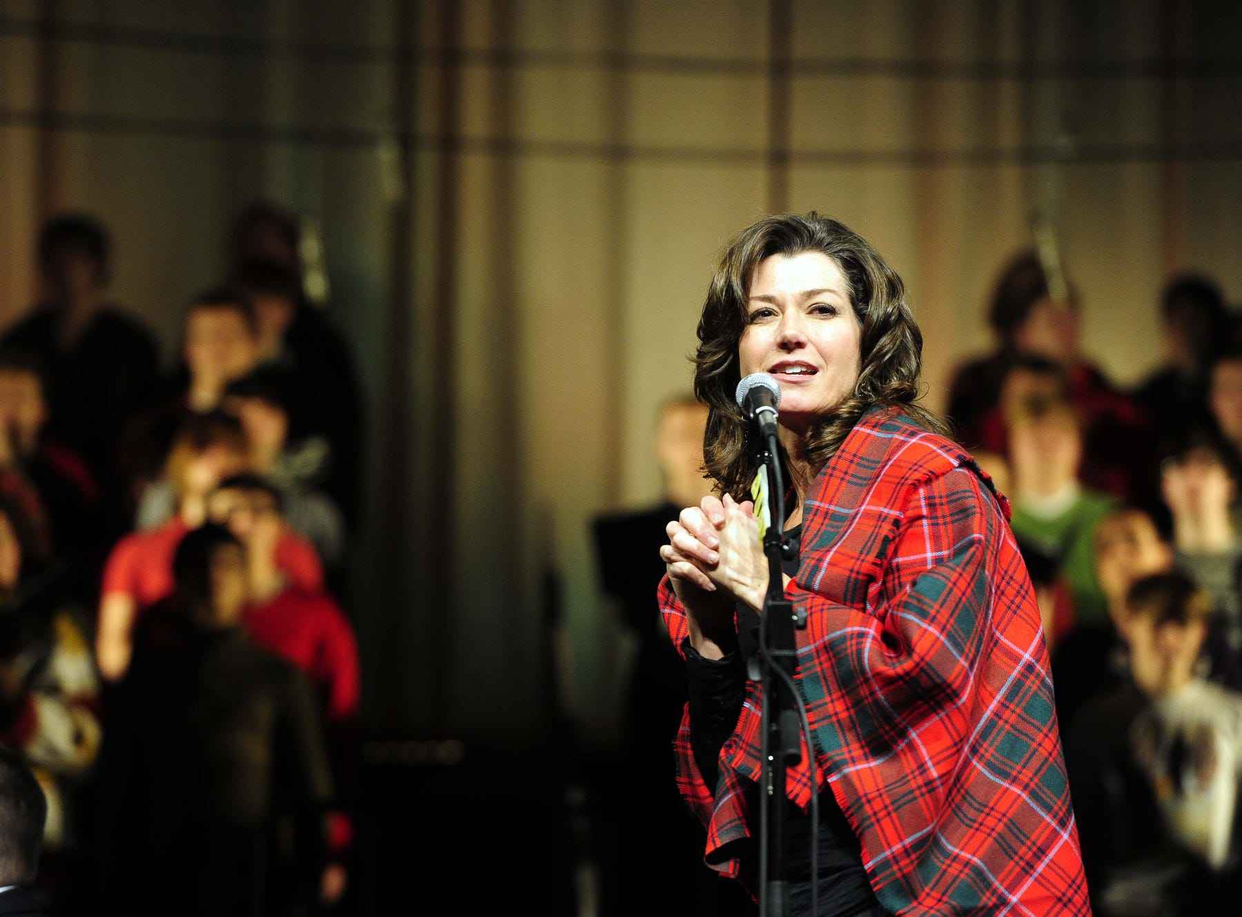 Amy Grant performs Nov. 29, 2011 at Lipscomb University's annual Lighting of the Green.