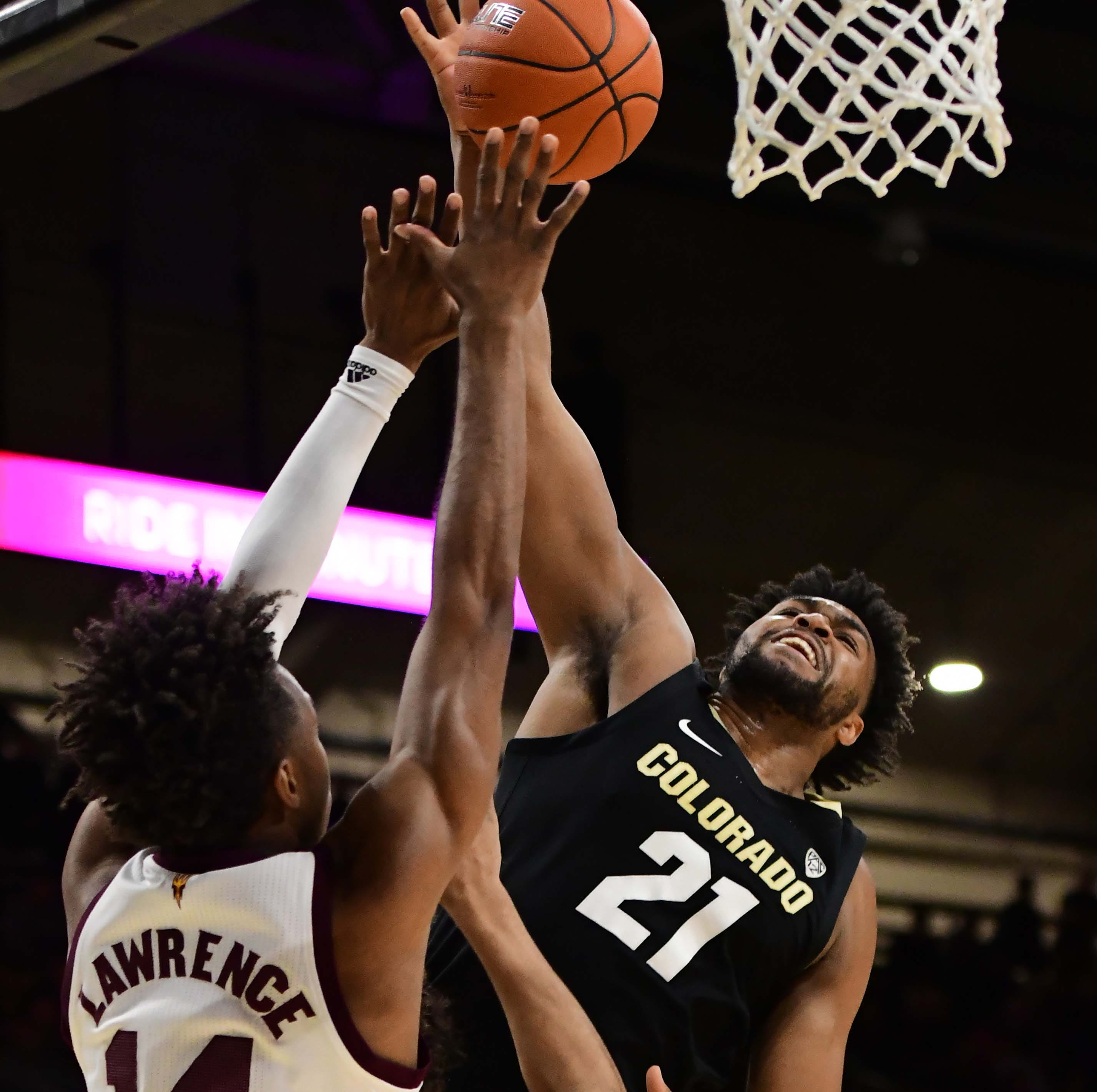 ASU basketball falls apart in second half in loss to Colorado