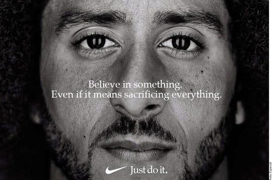 Kaepernick fue firmado por Nike para encabezar una campaña publicitaria.