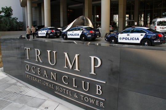 Vista del Hotel Trump Ocean Club, propiedad de Donald Trump.