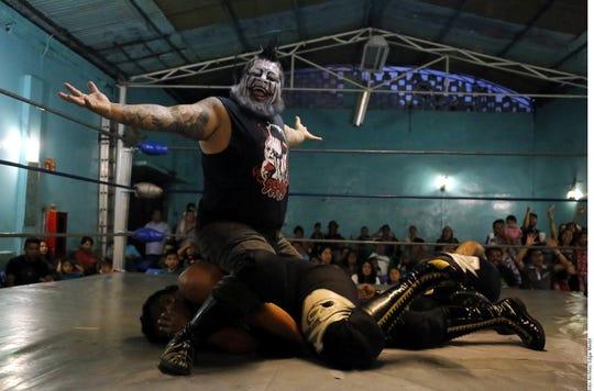 Demus 3:16 es la sensación de la lucha libre en México.