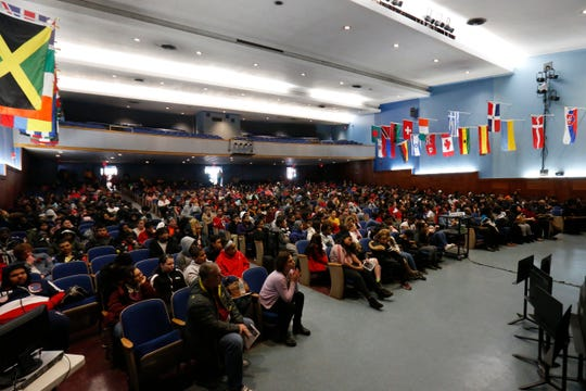 Poughkeepsie City School District's Martin Luther King Celebration at Poughkeepsie High School on February 14, 2019.
